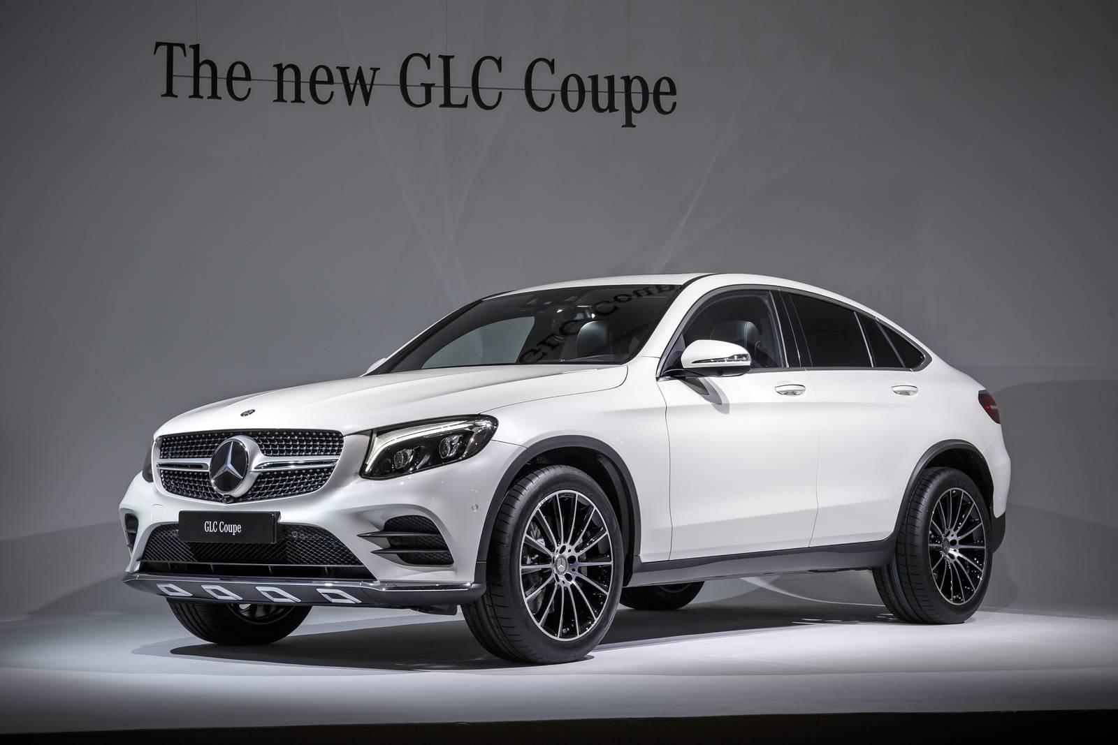 New York 2016 Mercedes Benz Glc Coupe