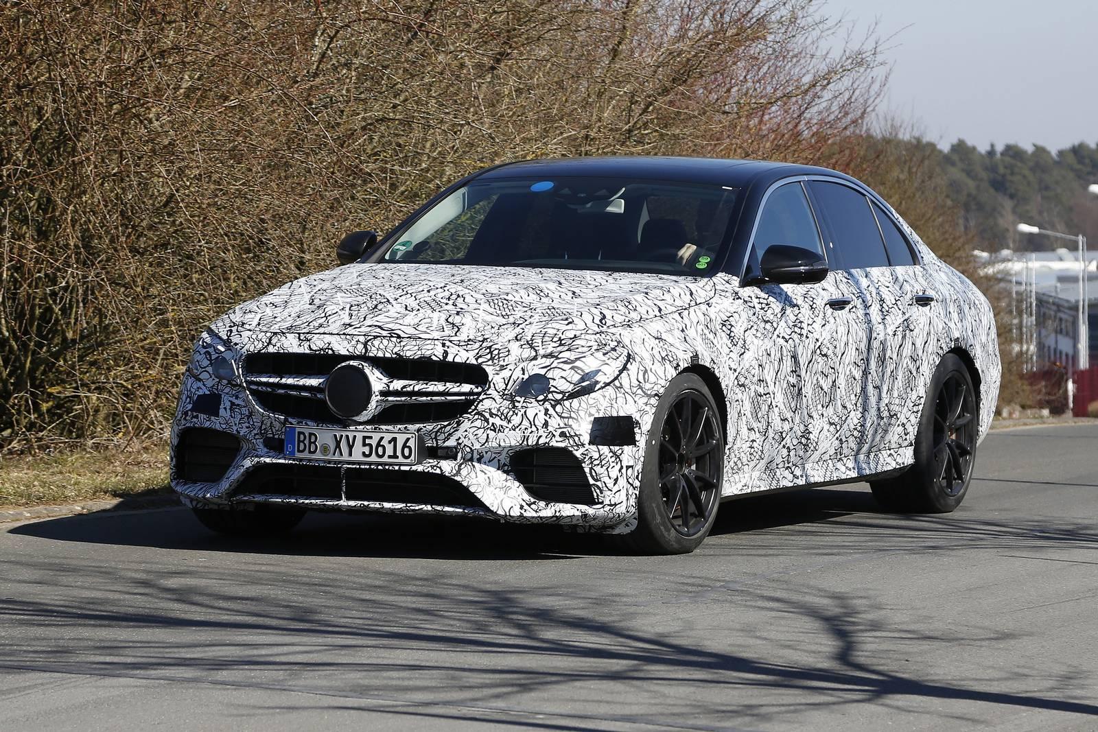 2018 mercedes amg e63 estate and sedan new spy shots for Mercedes benz e63 amg 2018