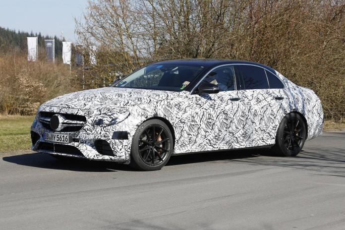 2018 Mercedes-AMG E63 Spy Shots