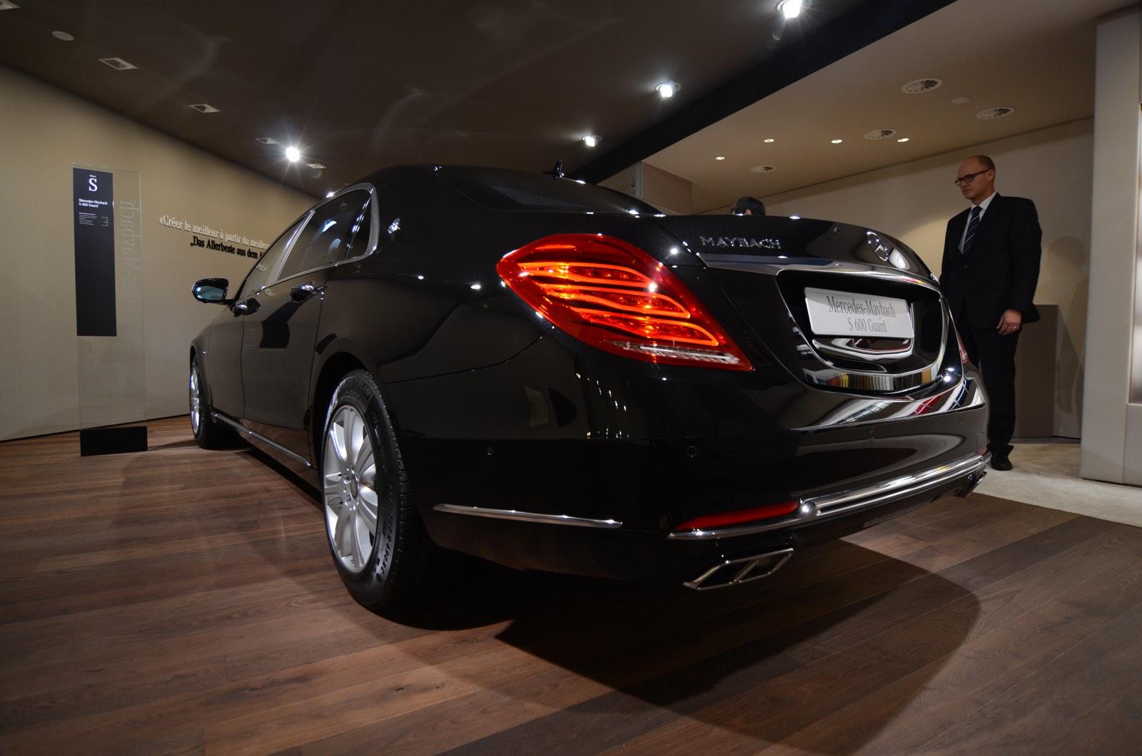 Innovative Geneva 2016 MercedesMaybach S600 Guard  GTspirit
