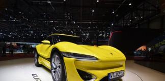 Nanoflowcell Quantino at Geneva Motor Show 2016