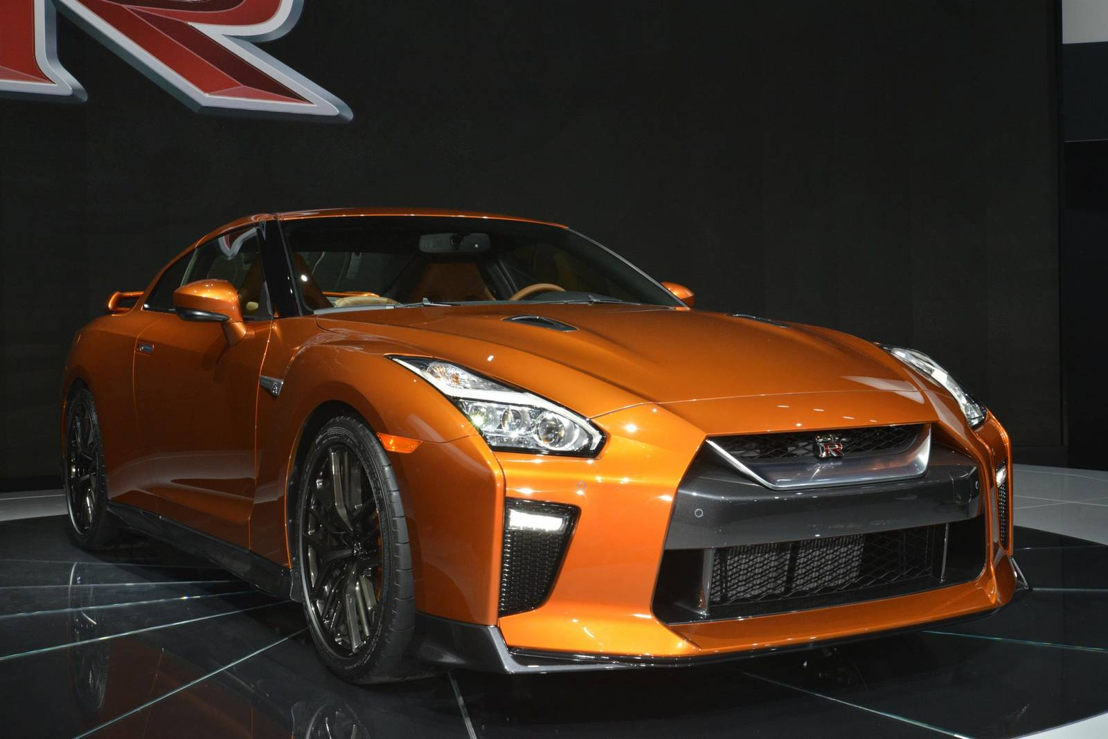 new york 2016 nissan gt r facelift gtspirit. Black Bedroom Furniture Sets. Home Design Ideas