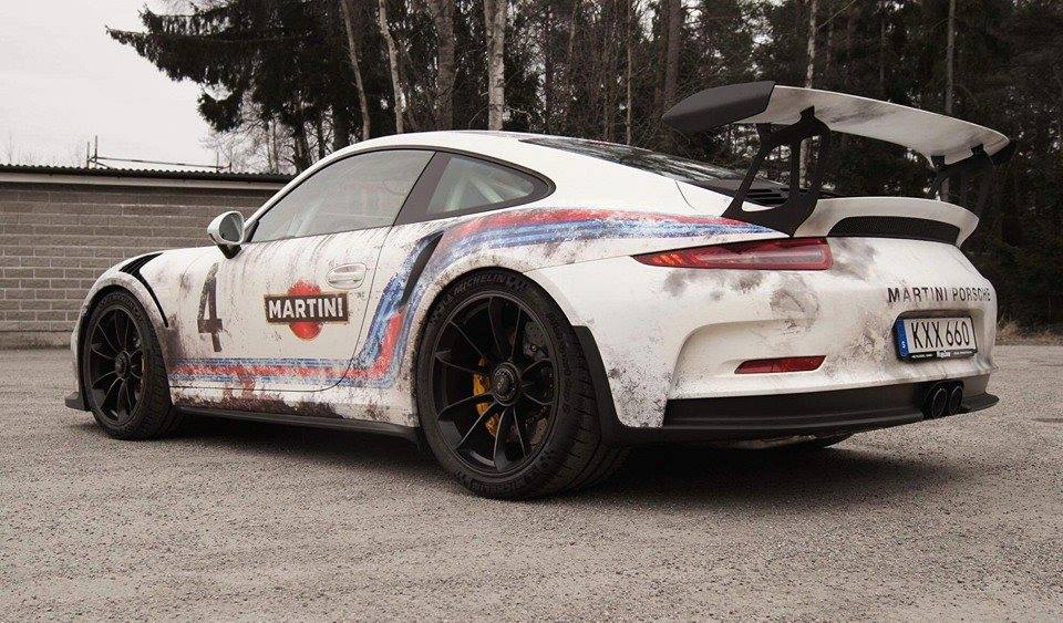 paint is dead rust wrapped porsche 911 gt3 rs by wrapzone gtspirit. Black Bedroom Furniture Sets. Home Design Ideas