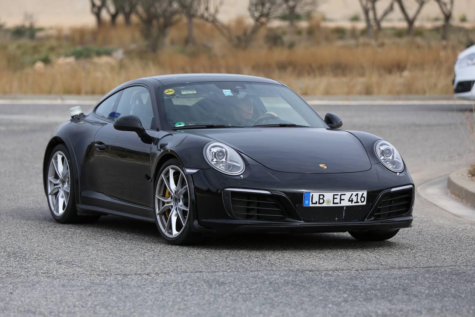 Next Gen Porsche 911 Test Mule First Spy Shots