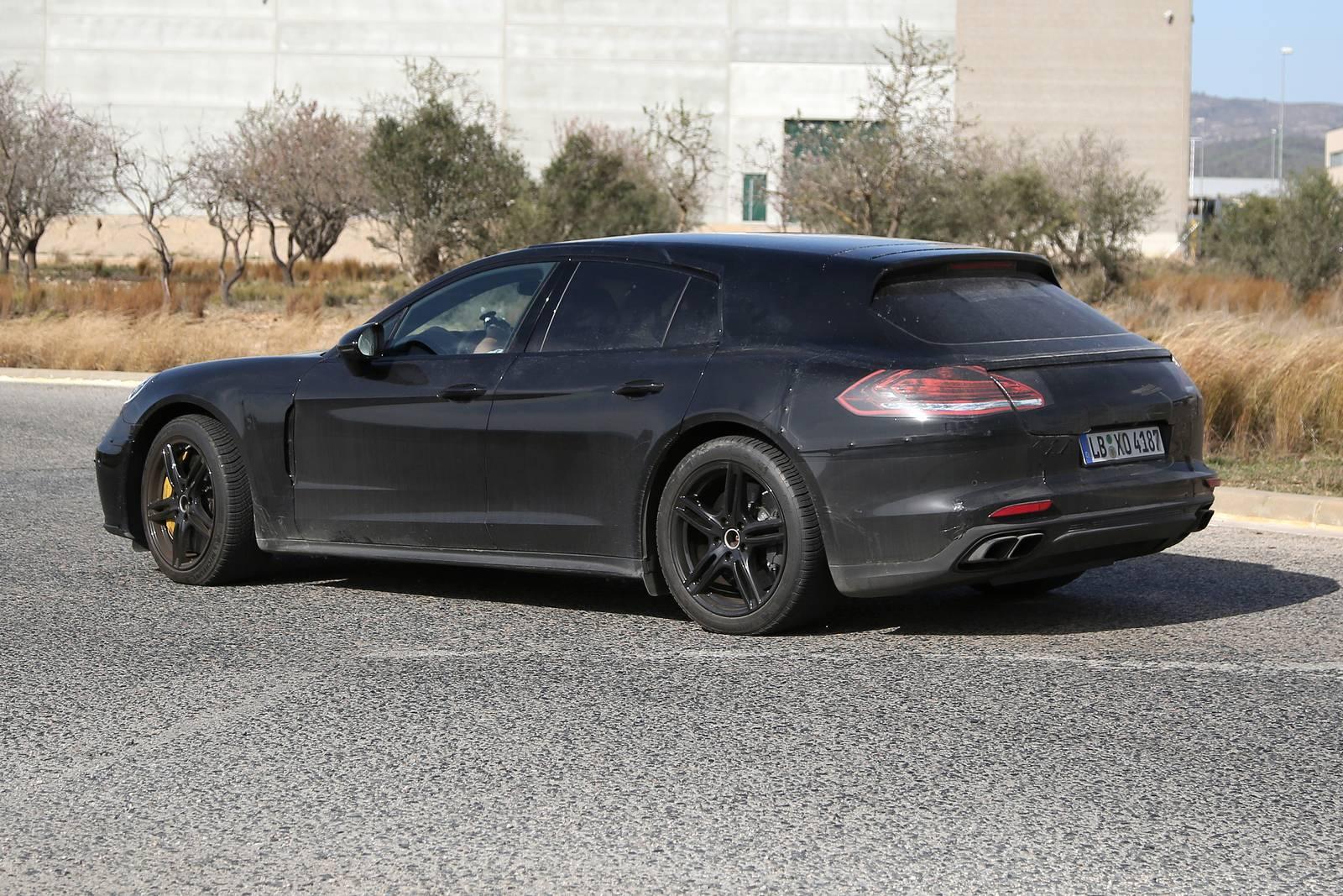 2017 Porsche Panamera Shooting Brake New Spy Shots Gtspirit