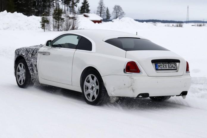 Rolls-Royce Wraith Spy Shot