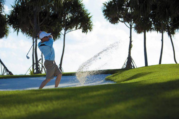 Shangri-La's Villingili Resort & Spa, Malediven_Golf Bunker