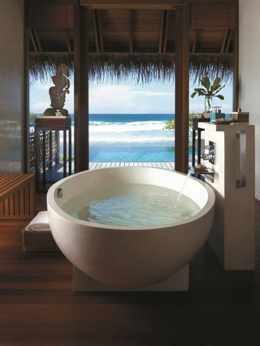 Shangri-La's Villingili Resort & Spa_Malediven_Treehouse Villa_Badezimmer