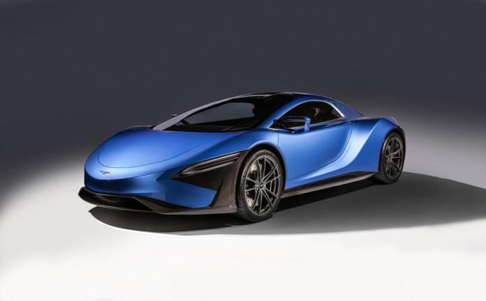Techrules GT96 TREV supercar concept - studio 1