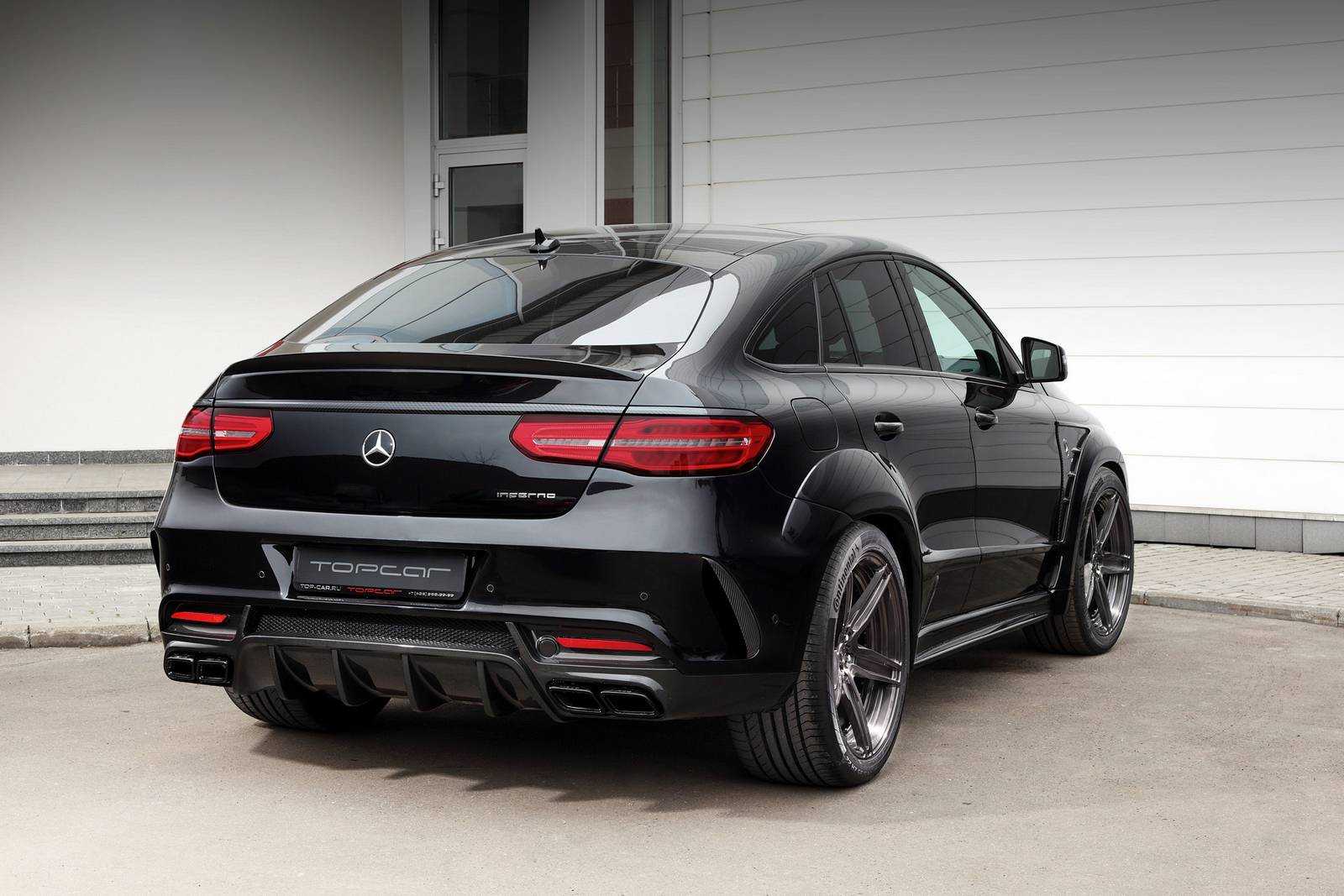 Official topcar mercedes benz gle coupe inferno gtspirit for Pictures of a mercedes benz