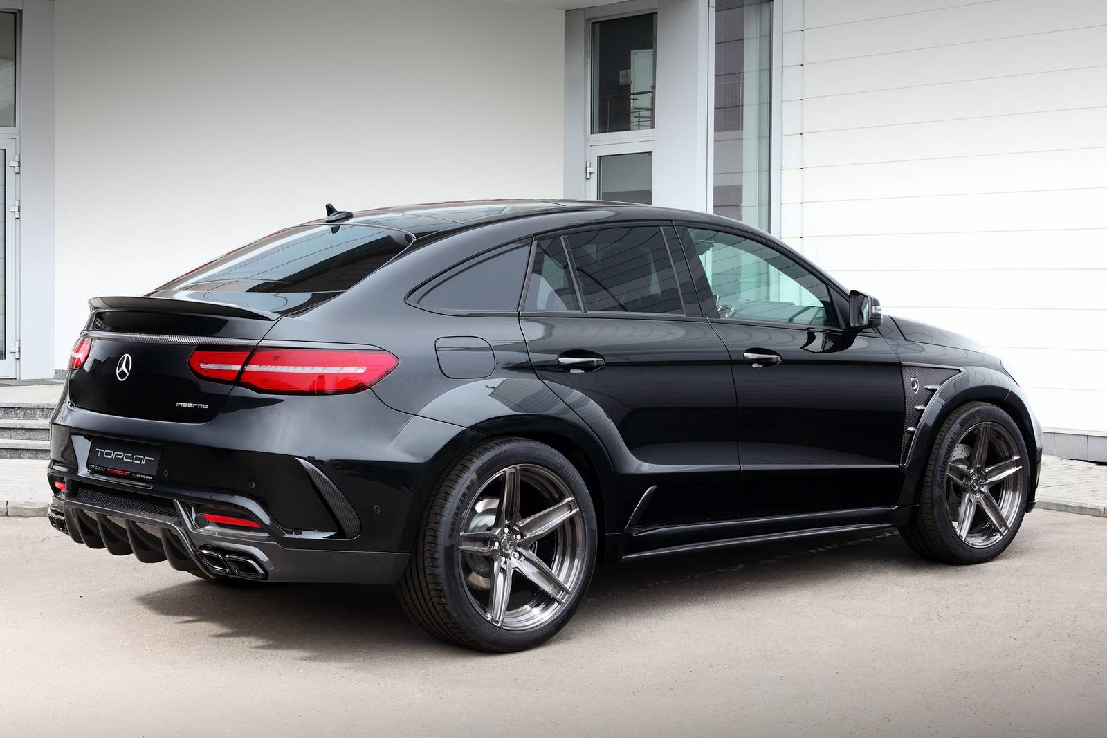 Official topcar mercedes benz gle coupe inferno gtspirit for All new mercedes benz