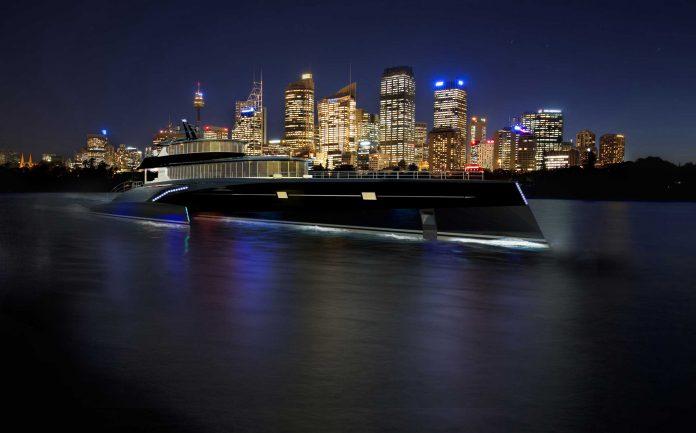 Trimaran Yacht Carbon Edition