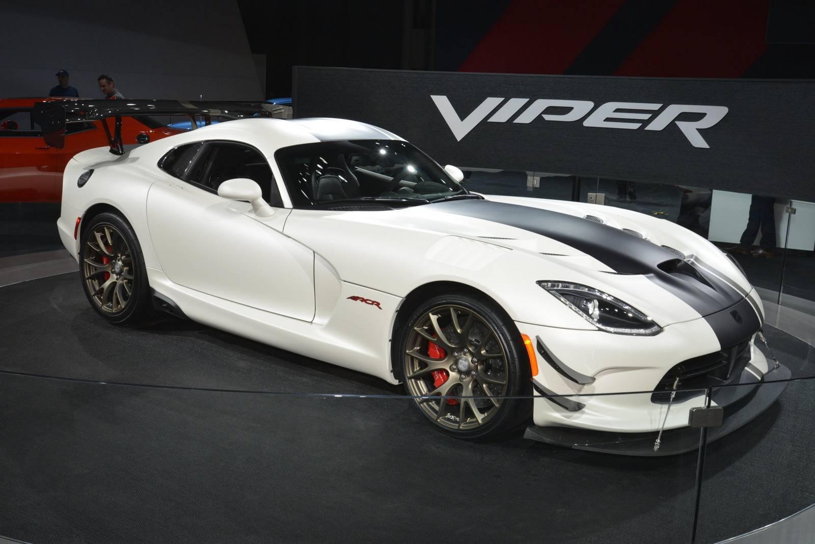 Dodge Viper To Return In 2020 With Hellcat V8 Instead Of V10 Gtspirit