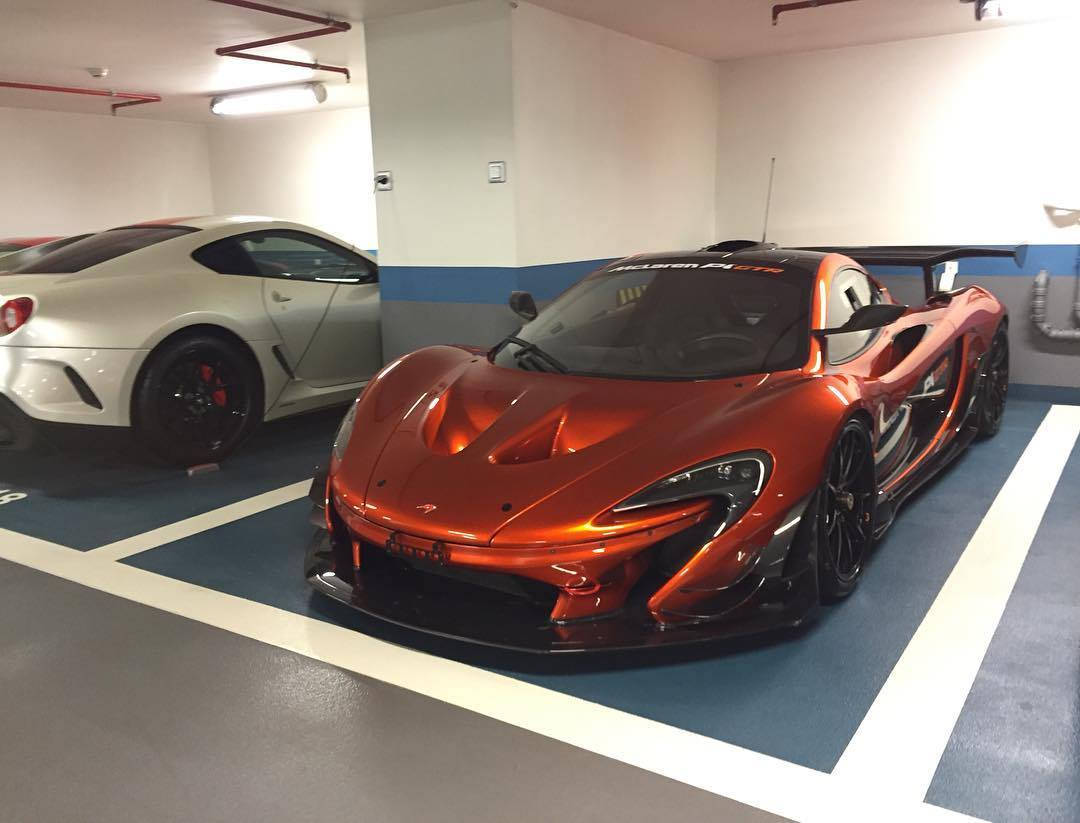 first road legal mclaren p1 gtr arrives in monaco gtspirit. Black Bedroom Furniture Sets. Home Design Ideas
