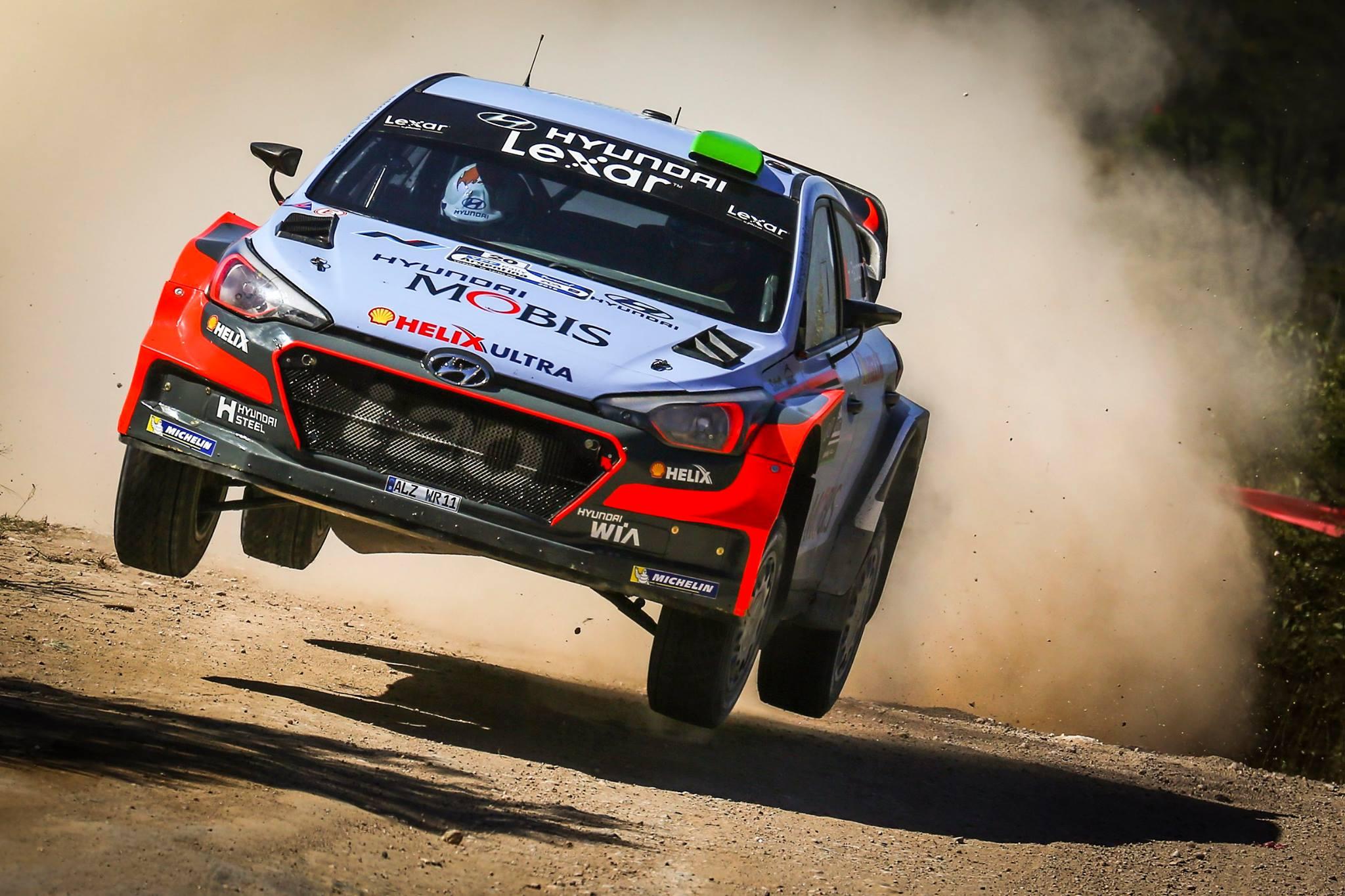 Znalezione obrazy dla zapytania Hyundai I20 WRC 2016 paddon