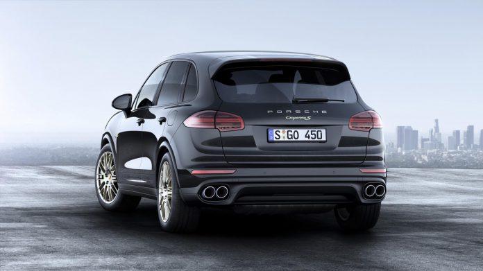 1_Porsche Cayenne Platinum Edition