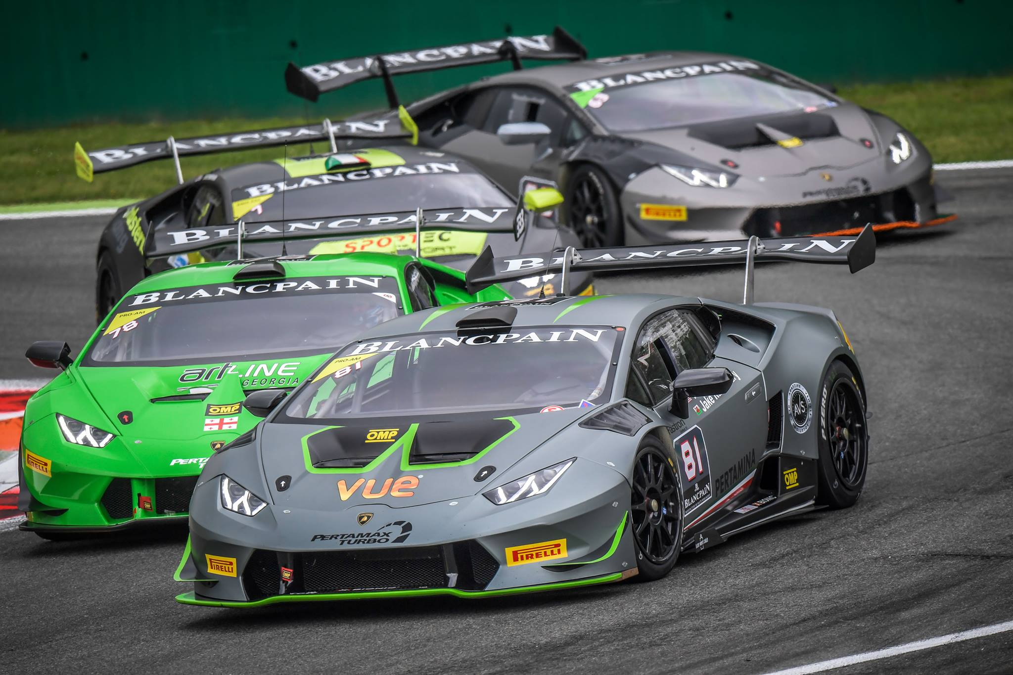 lamborghini blancpain super trofeo monza 2016 highlights gtspirit. Black Bedroom Furniture Sets. Home Design Ideas