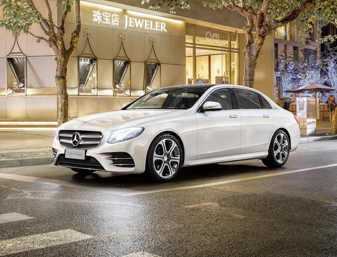 Official 2017 Mercedes Benz E Cl Long Wheelbase