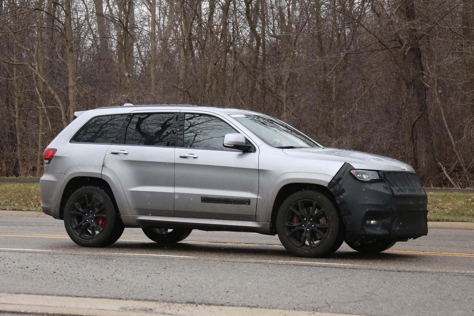 Dodge Hellcat For Sale >> Jeep Grand Cherokee Hellcat Latest Spy Shots - GTspirit