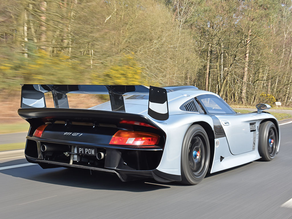 1 of 1 road legal porsche 911 gt1 evo to be auctioned in monaco gtspirit. Black Bedroom Furniture Sets. Home Design Ideas