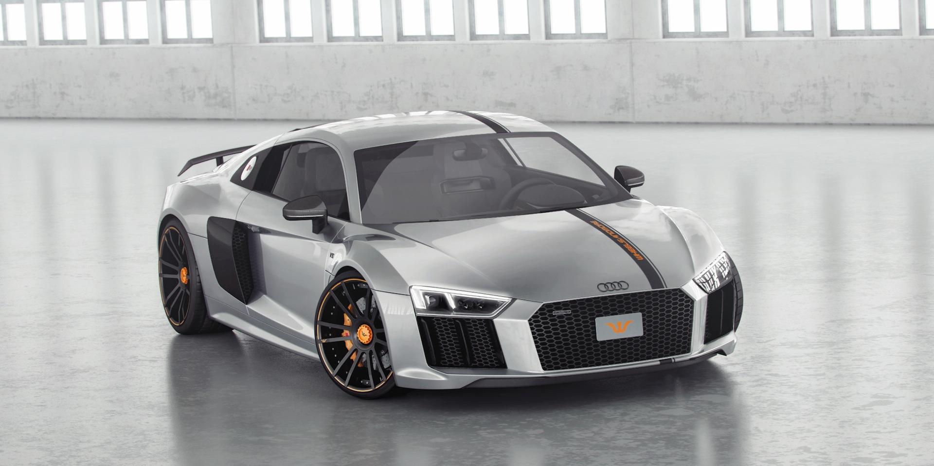 Official 850hp Audi R8 V10 Plus By Wheelsandmore Gtspirit