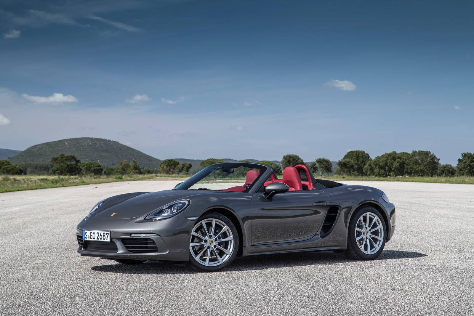 2017 Porsche 718 Boxster Review Gtspirit