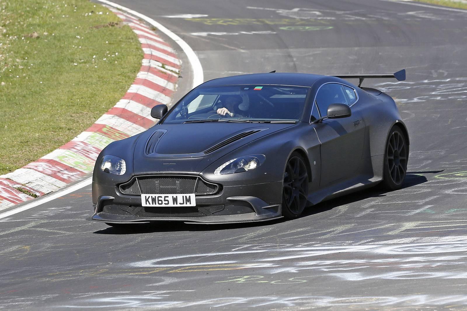 Aston Martin Vantage Gt8 New Spy Shots Gtspirit