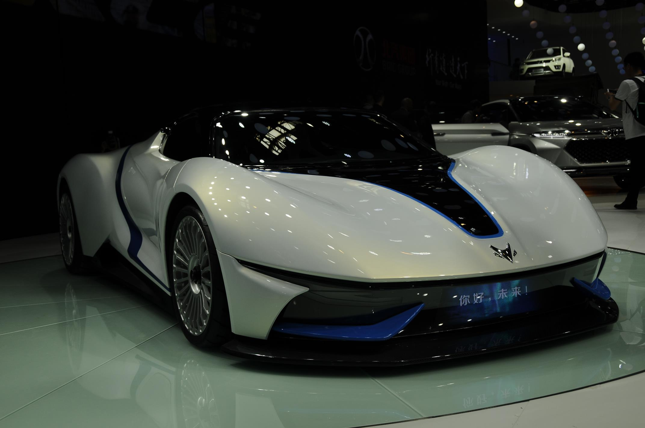 Beijing 2016 Baic Arcfox 7 Electric Supercar Gtspirit