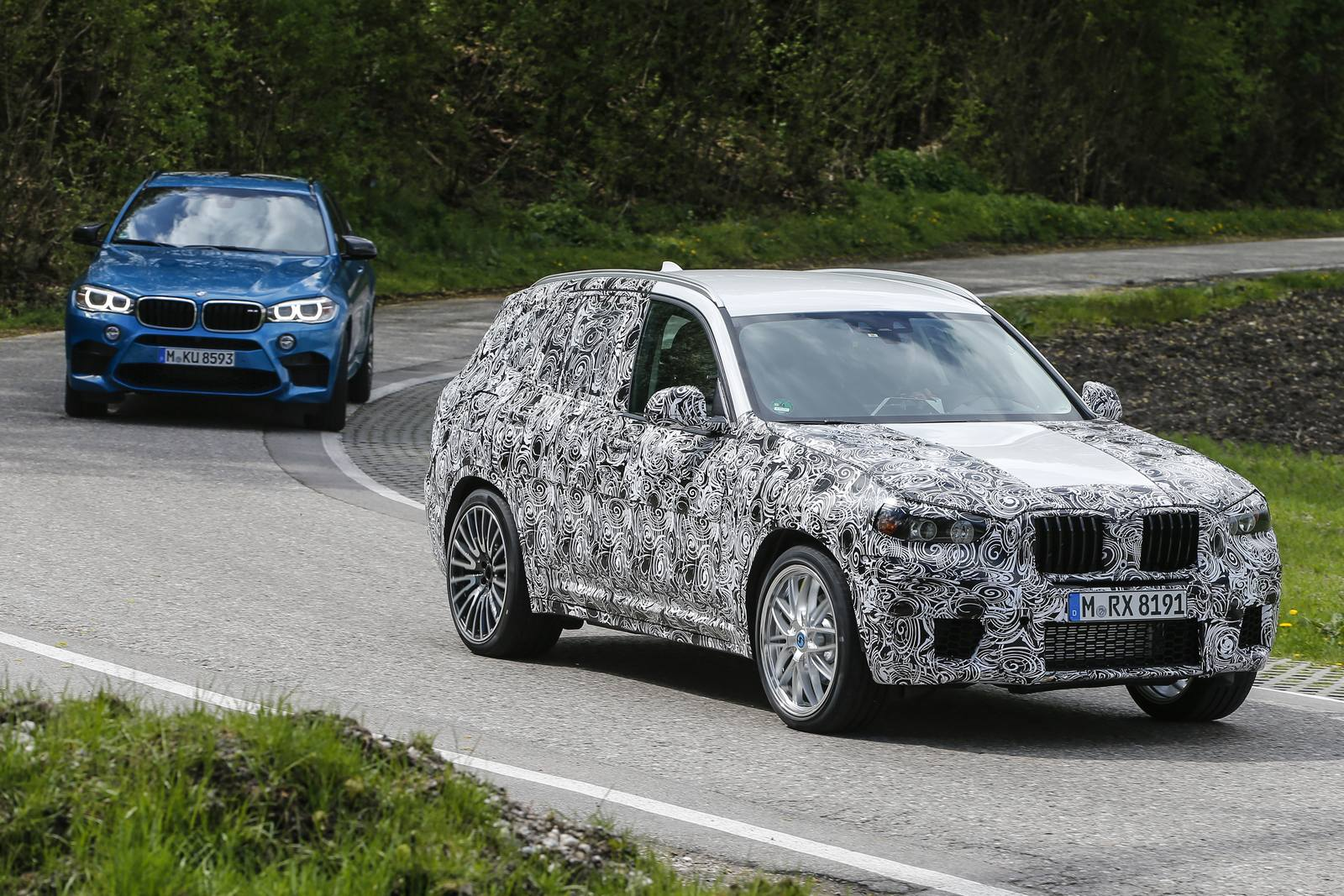 2017 bmw x3 m latest spy shots gtspirit. Black Bedroom Furniture Sets. Home Design Ideas