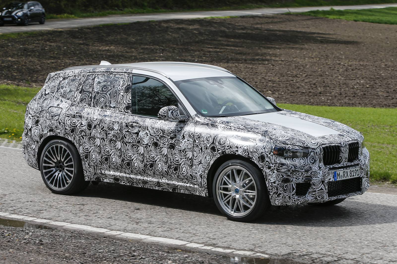 2017 BMW X3 M Latest Spy Shots - GTspirit