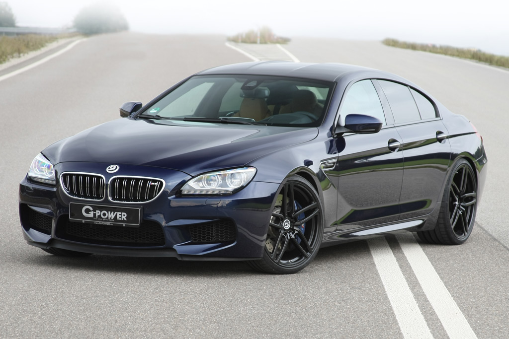 Official 740hp G Power Bmw M6 Gran Coupe Gtspirit
