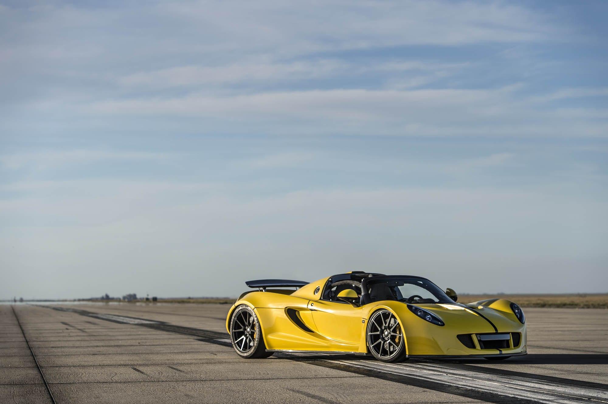 Video Hennessey Venom Gt Spyder Sets New World Speed