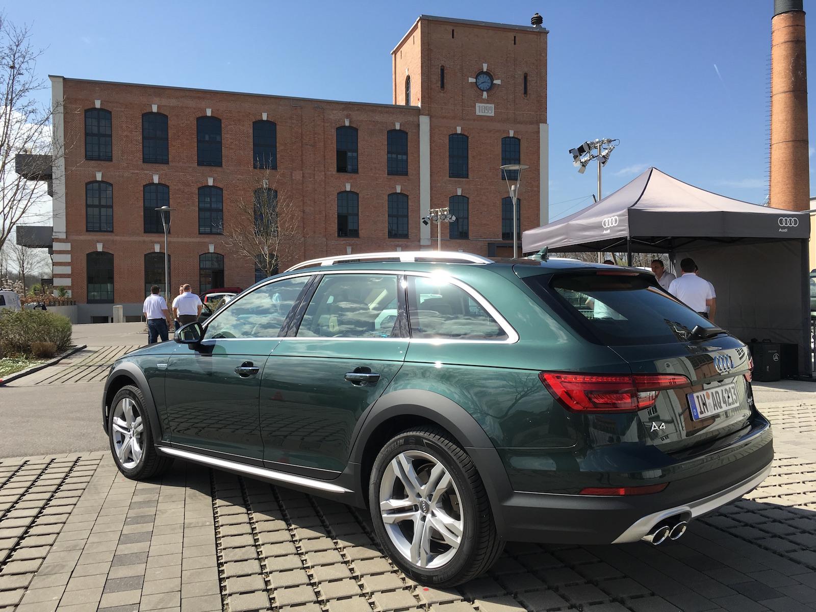 2017 Audi A4 Allroad Quattro Review Gtspirit