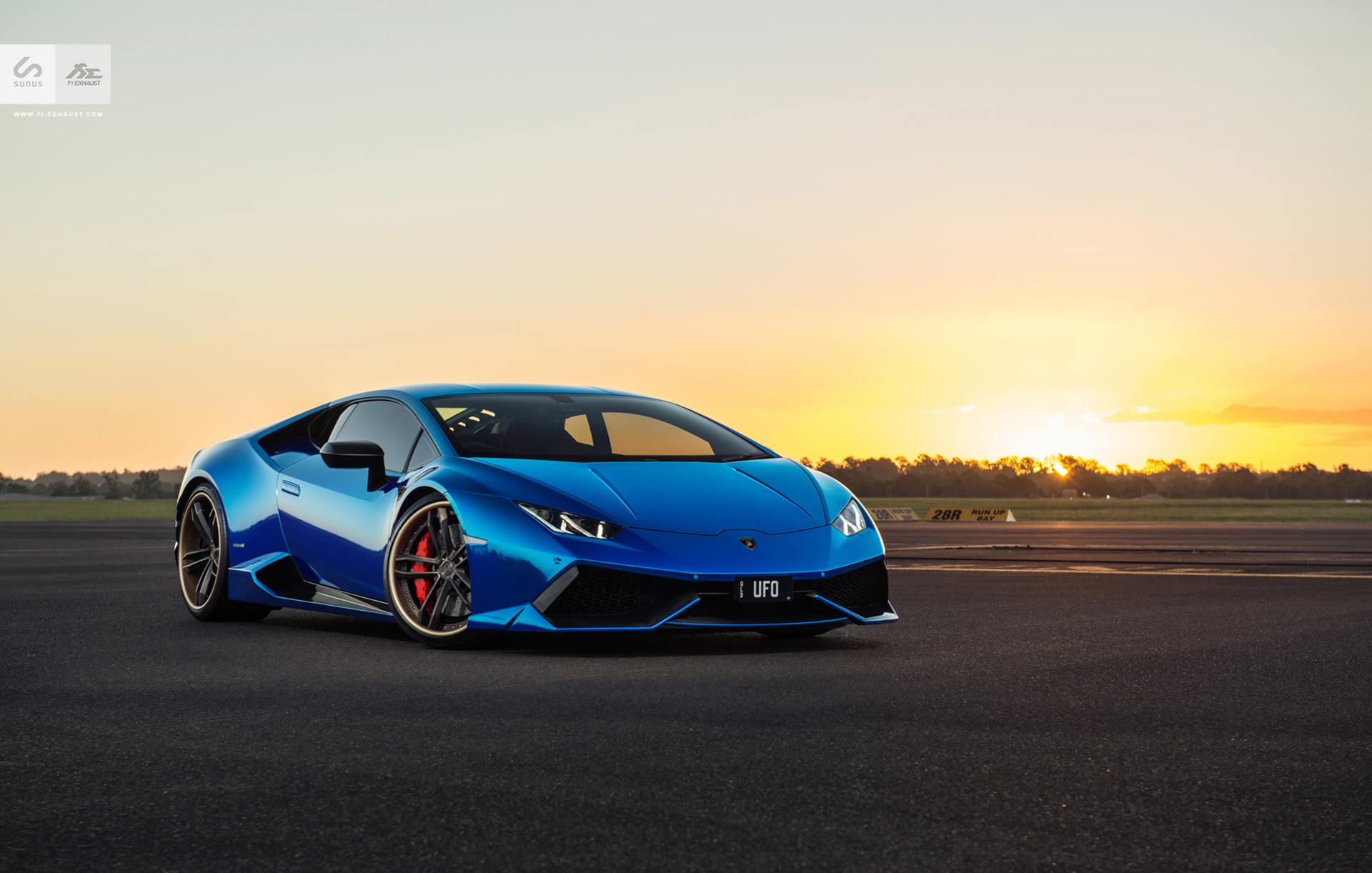 stunning blue chrome lamborghini huracan by sunus motorsport gtspirit. Black Bedroom Furniture Sets. Home Design Ideas