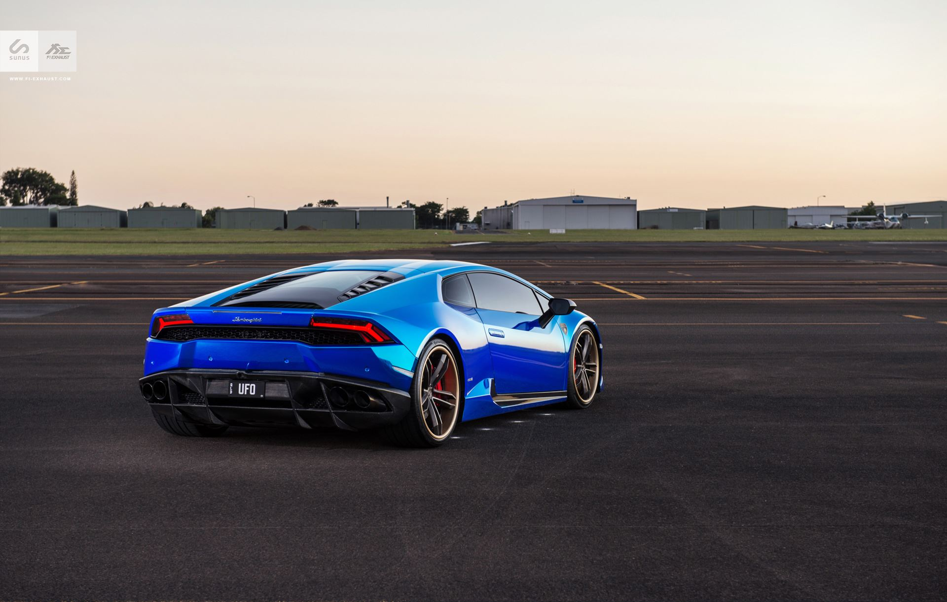 Stunning Blue Chrome Lamborghini Huracan By Sunus Motorsport Gtspirit