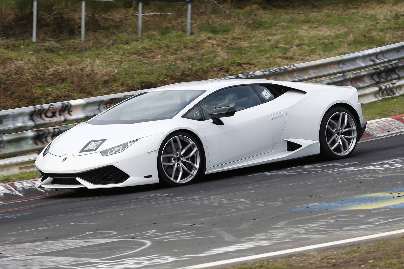 lamborghini huracan superleggera new spy shots gtspirit. Black Bedroom Furniture Sets. Home Design Ideas