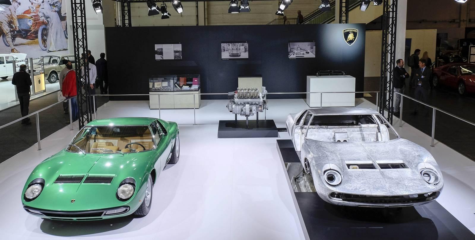 First Lamborghini Miura Sv Displayed At Techno Classica 2016 Gtspirit