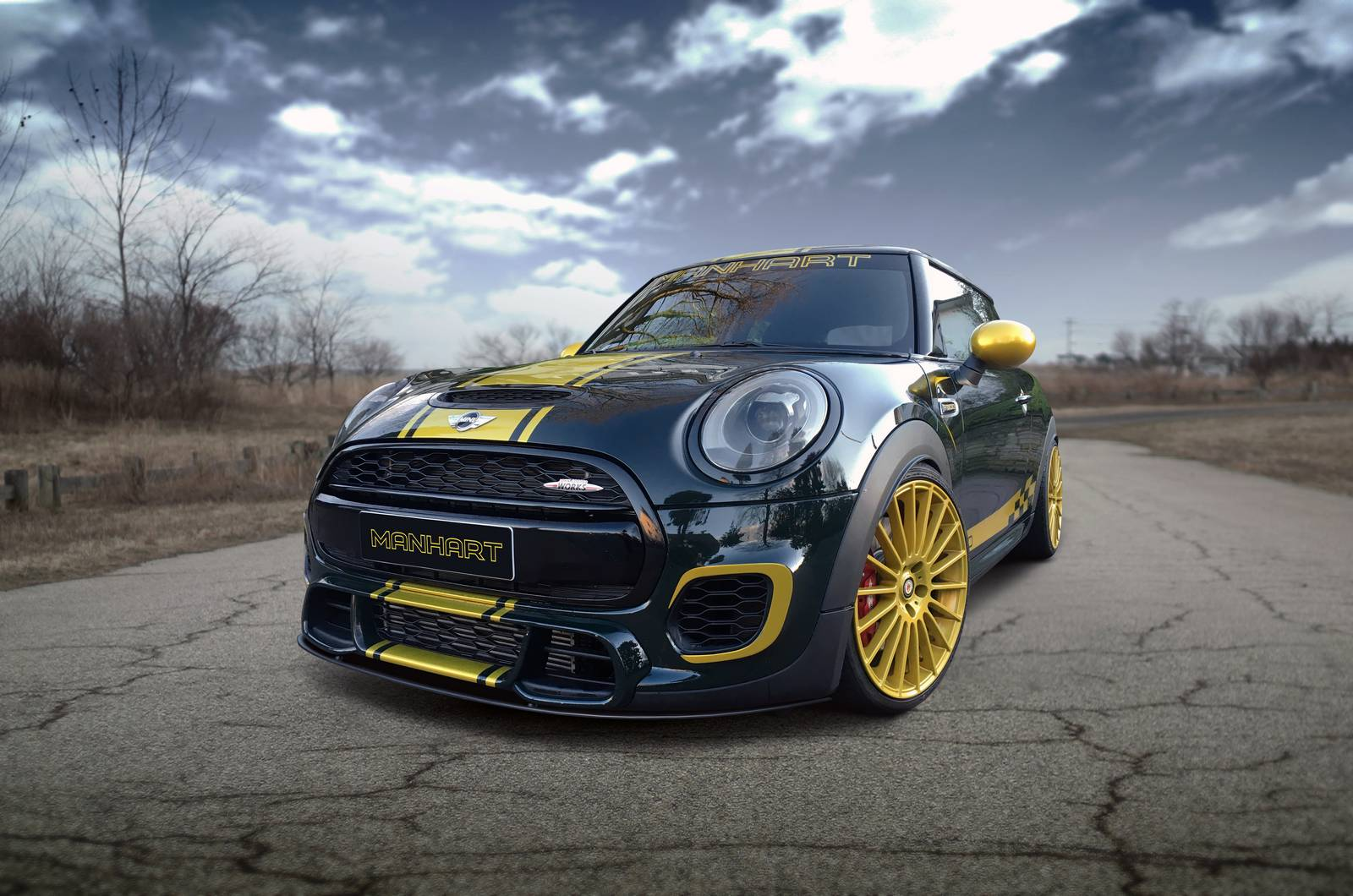 Official Mini Cooper Jcw F300 By Manhart Performance Gtspirit
