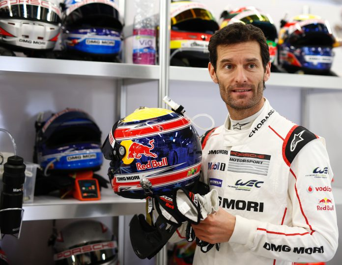 Mark Webber at Silverstone