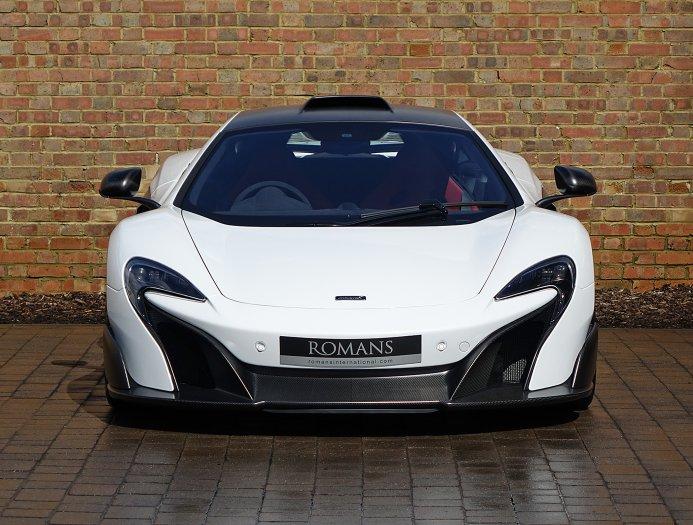 Mclaren 675Lt For Sale >> Silica White McLaren 675LT For Sale at $569,108 - GTspirit
