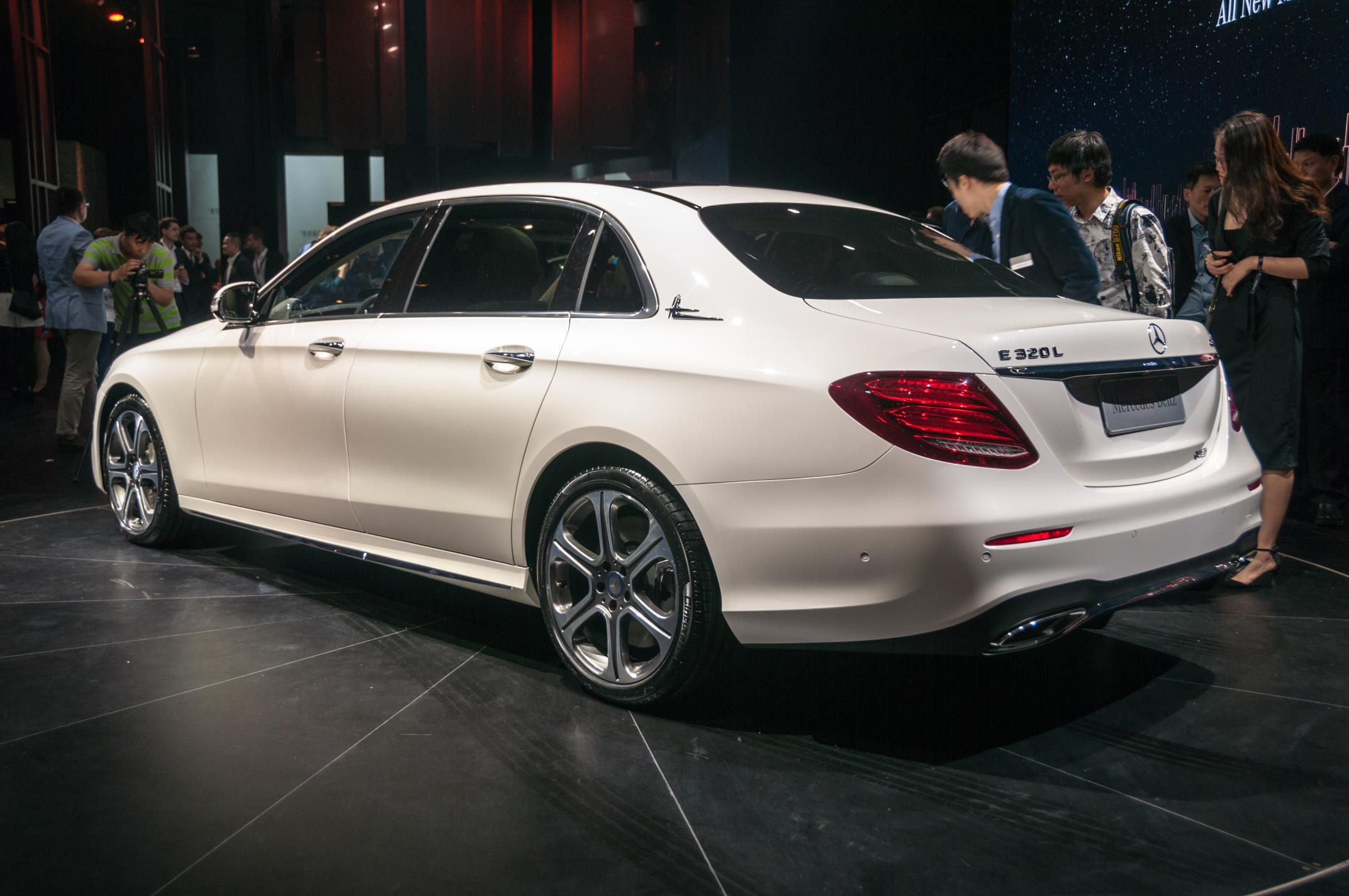 Beijing 2016 mercedes benz e class lwb gtspirit for Mercedes benz e3 50