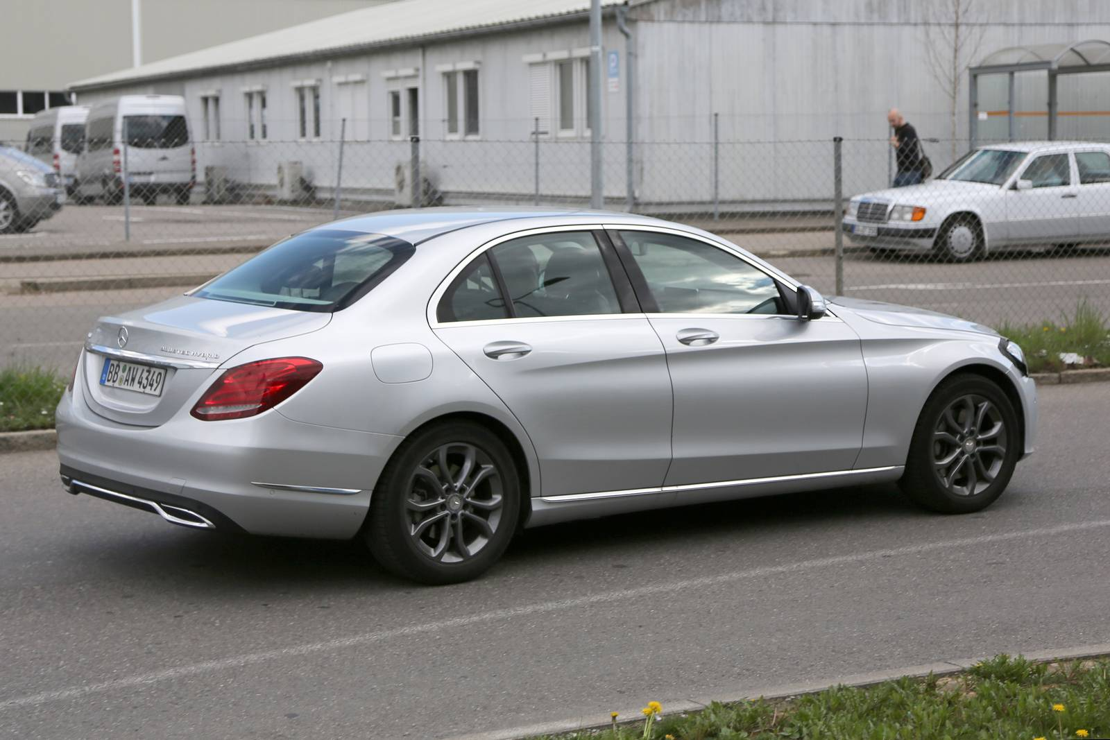 2018 Mercedes Benz C Class Facelift Spy Shots on maybach cabriolet
