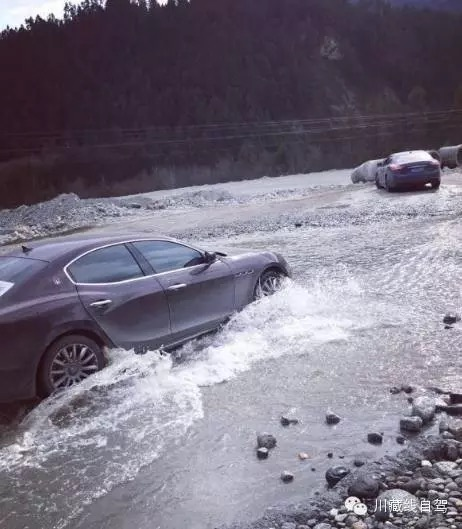 Aggressive Sports Cars: 6 Supercars Wrecked In Failed Attempt To Cross A River In