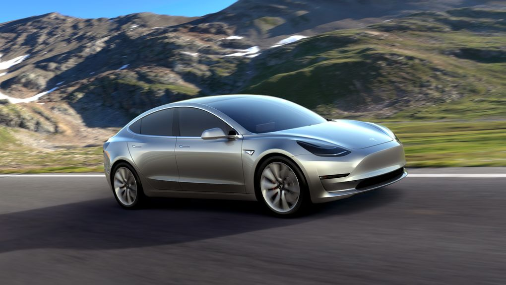 Official 2017 Tesla Model 3