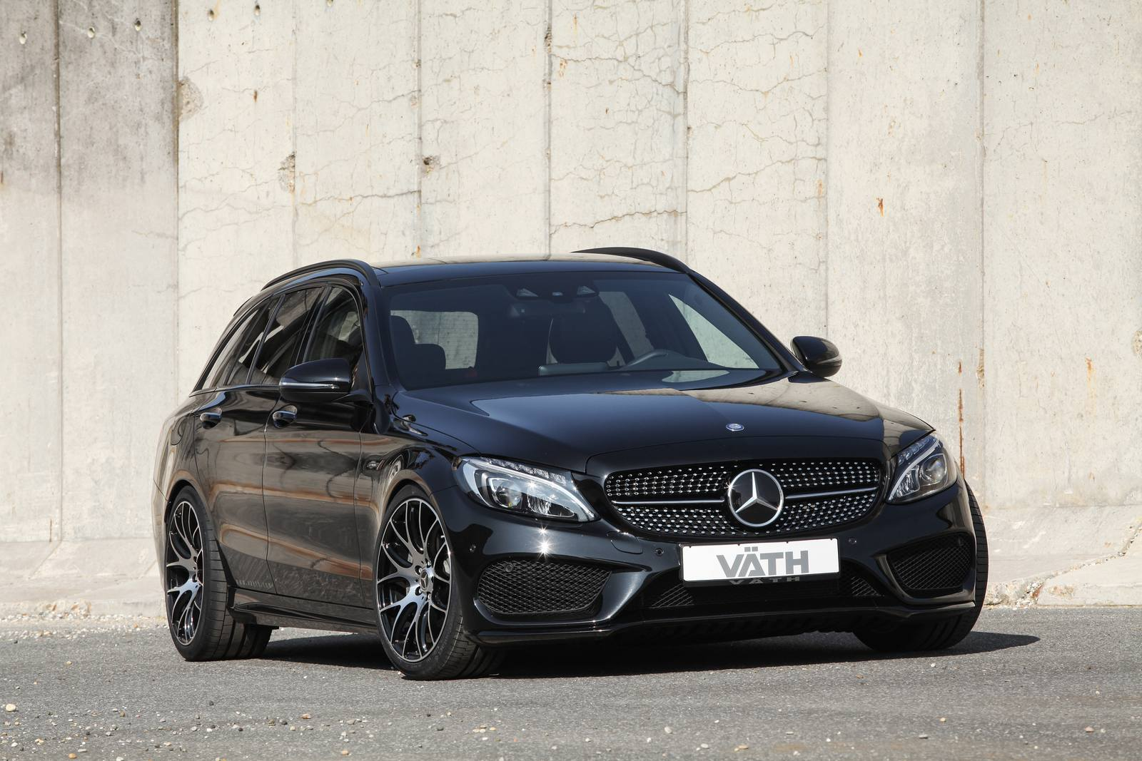 official vath mercedes benz c450 amg sport gtspirit