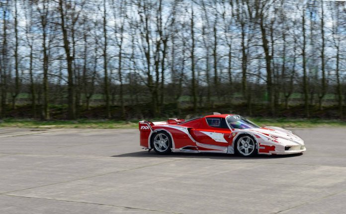Road Legal Ferrari FXX ran a solid 202 mph