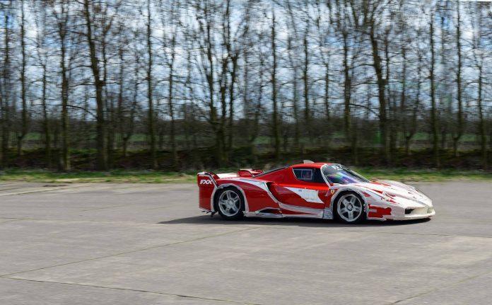 Road Legal Ferrari FXX ran a solid 202 mph
