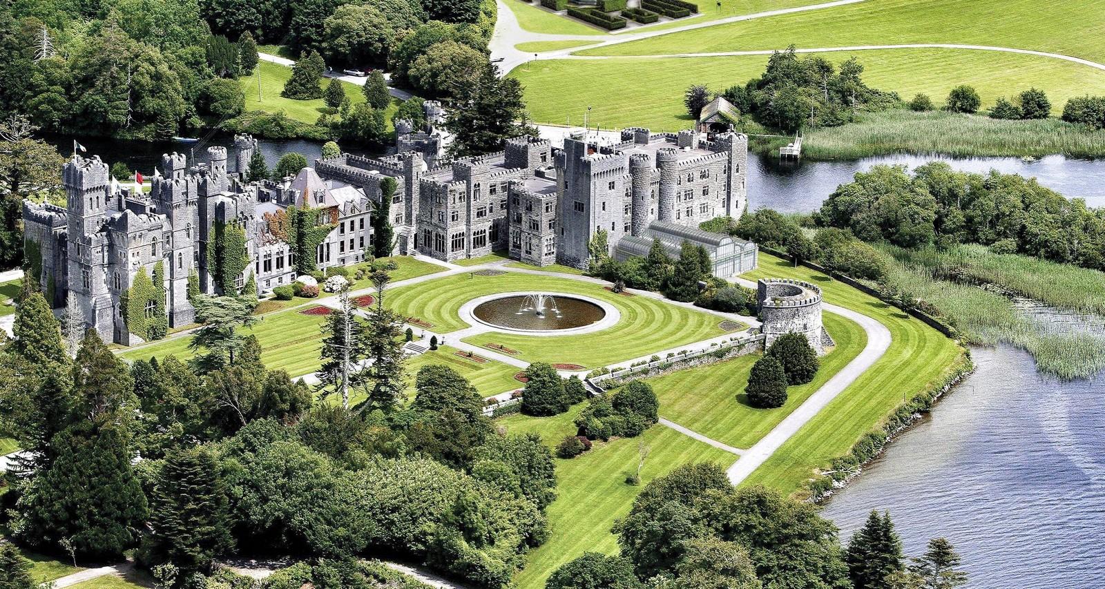 Ashford Castle Ireland Hotel Review on Retreat Floor Plans