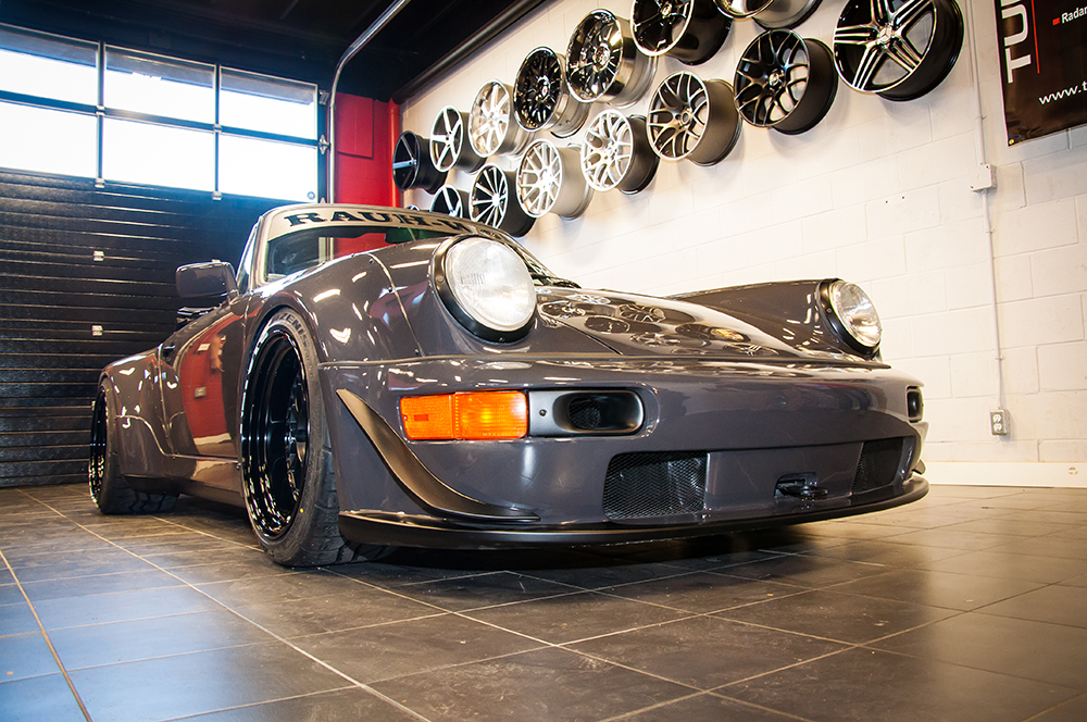 RWB Porsche 964 Cabriolet Unveiling In Calgary