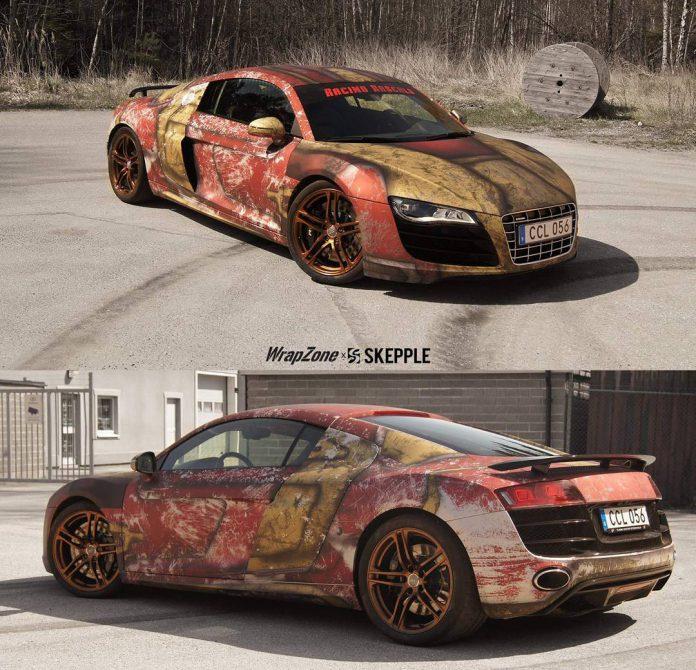 000_Audi R8 V10 Iron Man